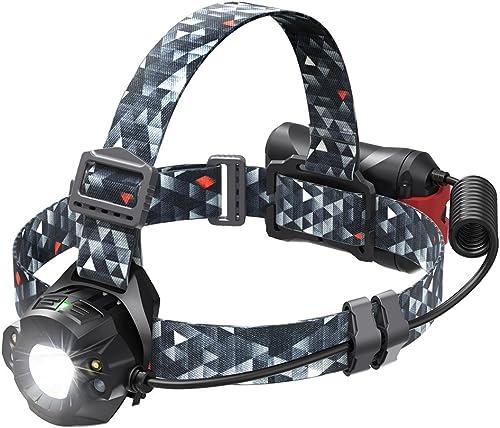 TaoTronics TT-HP006 Cree LED Headlamp, Camouflage Headlight Flashlight