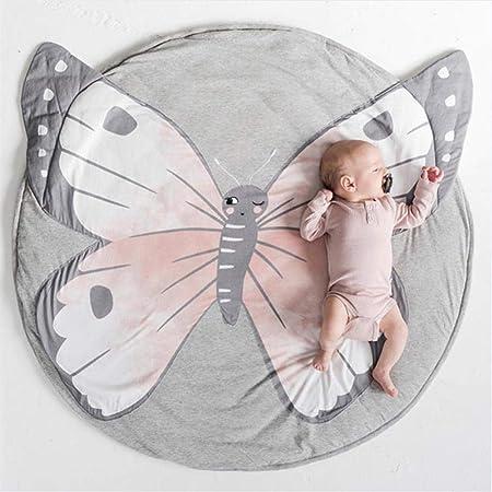 Alfombra de juego para bebés Alfombra redonda de algodón puro ...