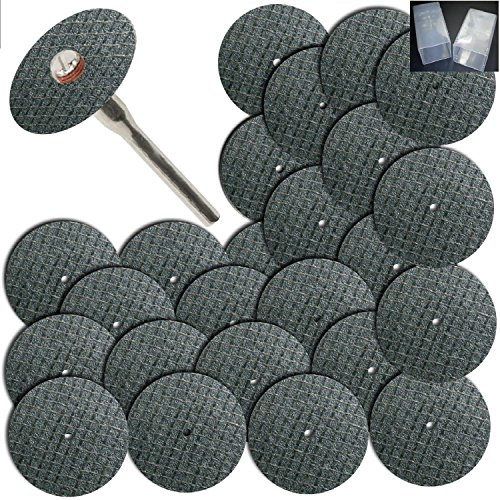 Integra; 100pc Fiberglass Reinforced Cut Off Wheel Disc w/2 Mandrel 1/8