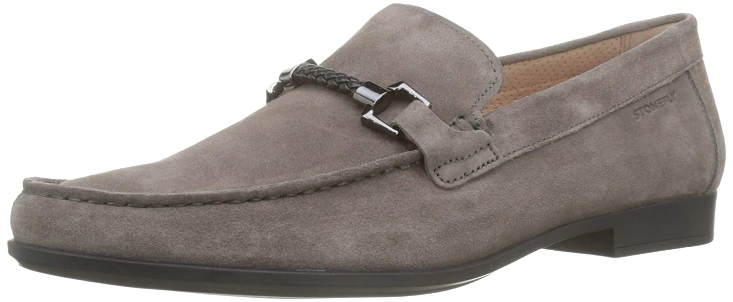 brown (Cement 123) Stonefly Summer Ii 8 Velour, Men's Loafers