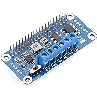 Dc Motor Driver Board, 2-Way DC Motor Driver Board PWM Dual H-Bridge I2C Interface Motor Driver Board for Raspberry Pi