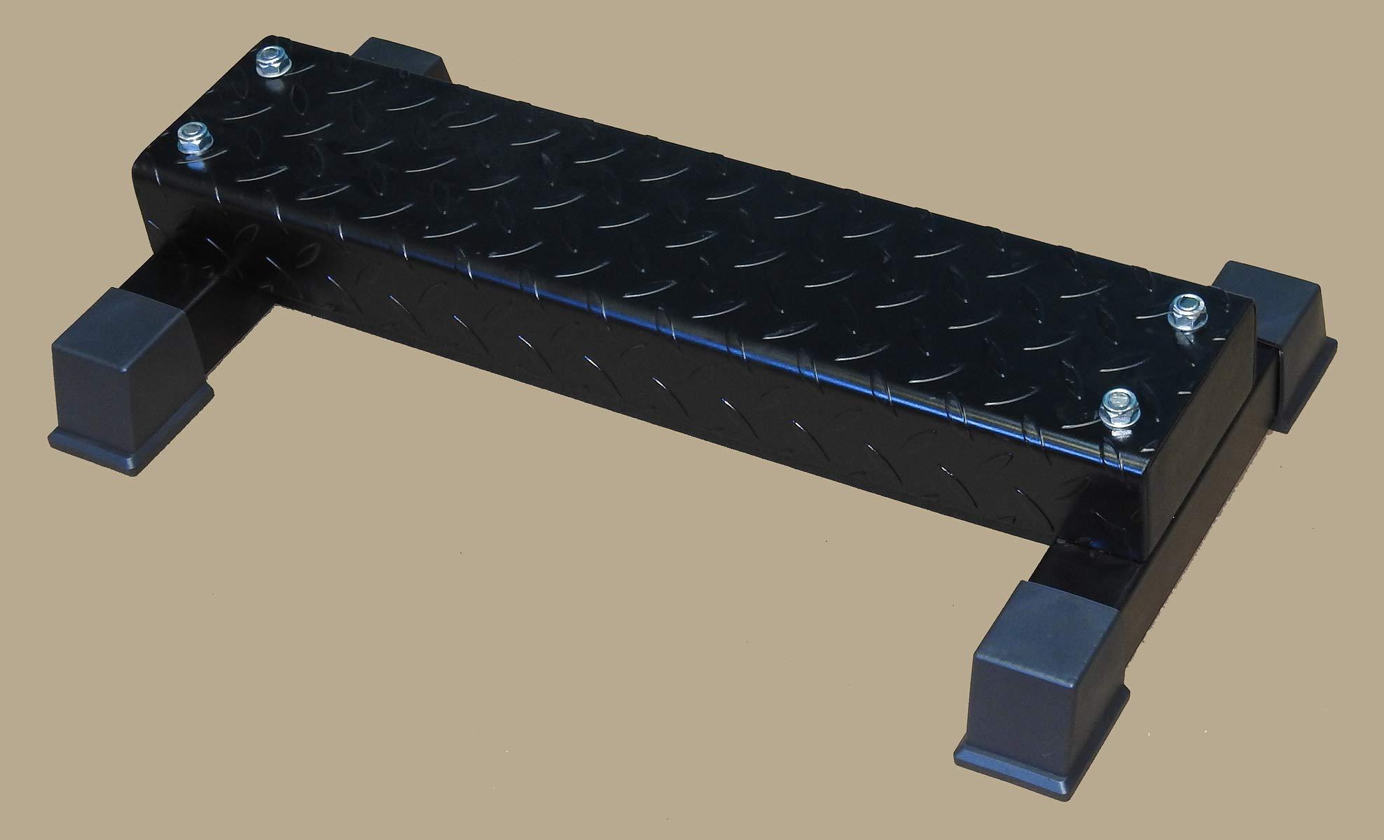 TDS Calf Block Platform with wide Non Slippery Steel Diamond Plate