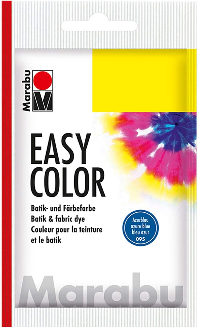 Marabu 095 Easy Color - Tinte para Ropa (25 g), Color Azul