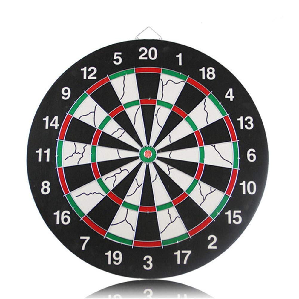 Lunuolao Regulation Bristle Steel Tip Dartboard Set, High Definition Vibrant Color, Long-Lasting Durability, Extremely Strong, Multi-Size, More Fun by Lunuolao