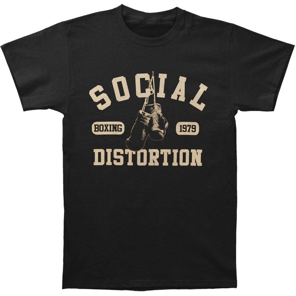 SOCIAL DISTORTION BOXING GLOVES MENS TEE