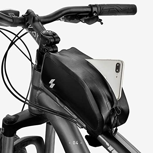 HUIGE Bolso de la Bicicleta, Paquete Impermeable colgado del Tubo ...
