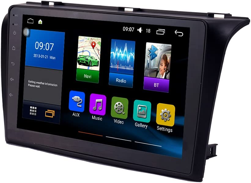 KUNFINE Vier Kern Android 8.1 Auto GPS Navigation Radio Autoradio Multimedia-Player Lenkradkontrolle F/ürMazda 3 2004 2005 2006 2007 2008 2009