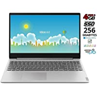 Notebook Lenovo Silver SSD da 256Gb cpu Amd A4 fino a 2,6GHz in Burst Mode, 4Gb DDR4, Display Hd da 15,6 Antiglare, web cam, 3 usb, hdmi, bt, Win10 Pro, Suite Office, Pronto All'uso garanzia Italia