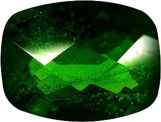 Deluxe gemme 1.33carati taglio cuscino (8x 6mm) russo Cromodiopside naturale gemma sciolto