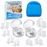Antironquidos Clip Nasal Magnético, Anti Ronquidos eficaz Dilatador Nasal Nariz Clip Stopper Anti ronquido Stop…