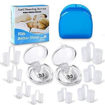 Antironquidos Clip Nasal Magnético, Anti Ronquidos eficaz ...