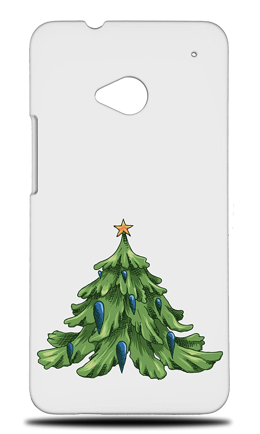 Amazon Com Christmas Tree 4 Hard Phone Case Cover For Htc One M8