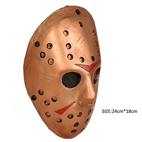 Amazon.com: CCOWAY Costume Prop,Jason Voorhees Mask for Freddy Hockey Festival,Halloween, Party, Cosplay and more: Home & Kitchen
