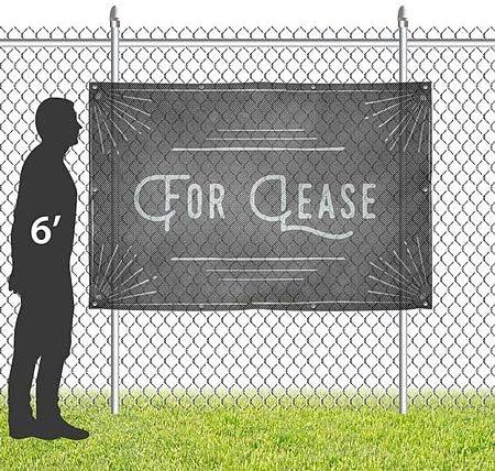 for Lease CGSignLab 12x8 Chalk Corner Wind-Resistant Outdoor Mesh Vinyl Banner