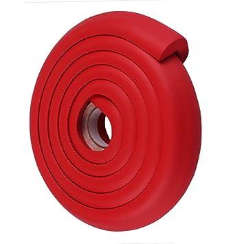 Red 2m Infants Kids Desk Table Edge Guard Protector Foam Strip Safety Cushion Bumper