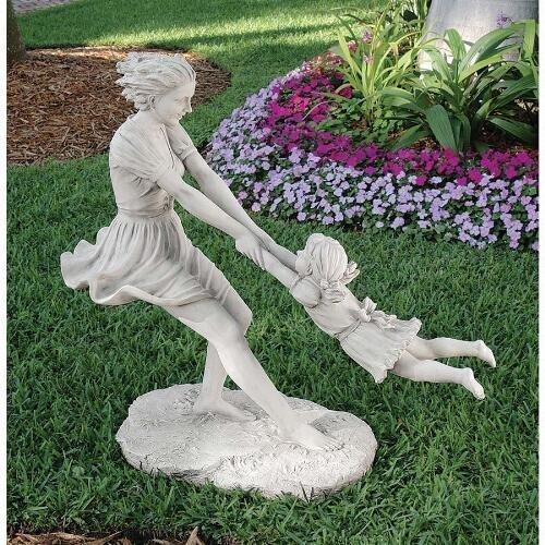 Summers Joy Mother & Child Statue Design Summer'S Joy Garden Statue