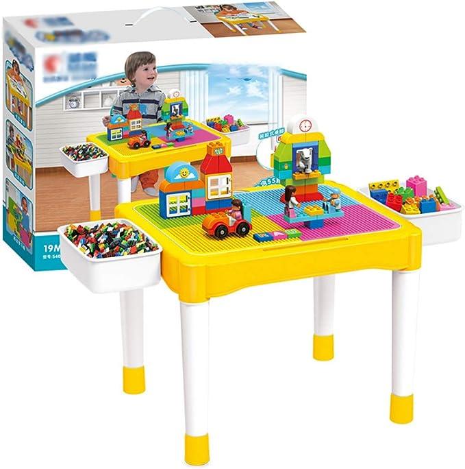 Yqihy Juego de Mesa de Actividades para niños: Mesa de Agua 3 en 1 ...