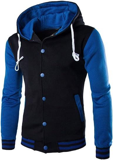 Mens Sweatshirt Coat Warm Outwear Hoodie Sweater Winter Hooded Jacket Casual