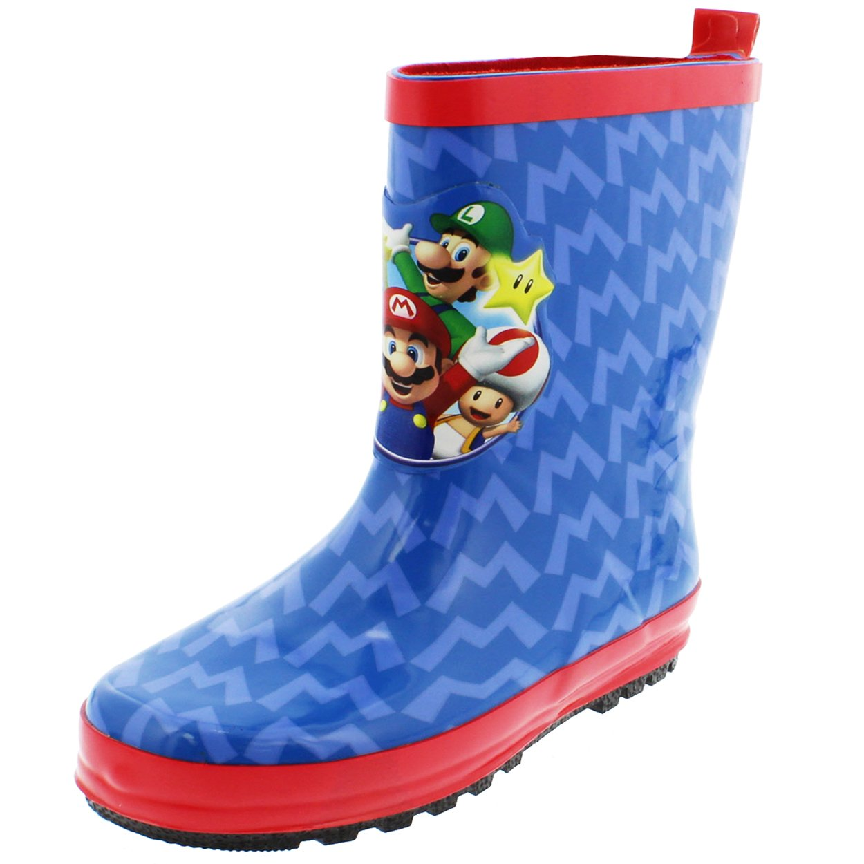 Super Mario Brothers Boys Rain Boots (Little Kid/Big Kid) Super Mario Blue) manufacturer