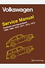 Volkswagen Fastback and Squareback (Type 3) Service Manual: 1968-1973 Hardcover