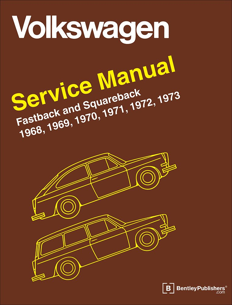 volkswagen fastback and squareback type 3 service manual 1968 follow the author volkswagen of america