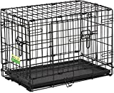 22″ CONTOUR DBL DOOR DOG CRATE