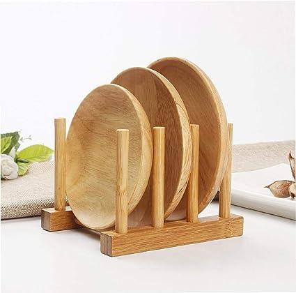 sin Marco de bambú estantería de Almacenamiento de palets y ...