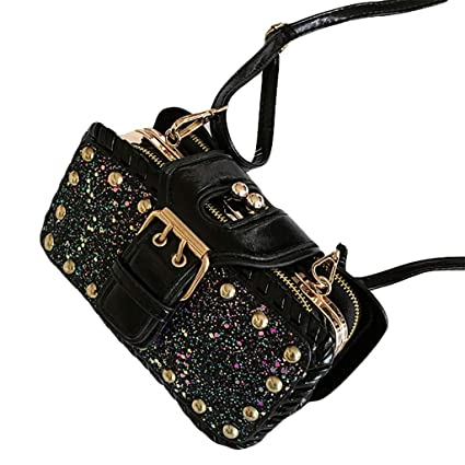 a645ce7fdca0 Amazon.com : Tpingfe Fashion Bling Crossbody Bag for Women Small ...