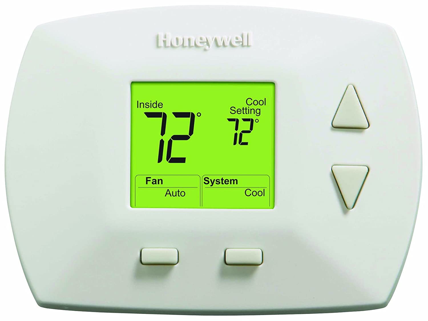 Honeywell Rth5100b 1025 Deluxe Manual Thermostat Programmable Iris Wiring Diagram Household Thermostats