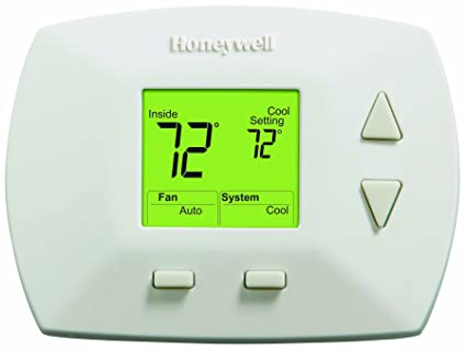 honeywell rth5100b 1025 deluxe manual thermostat programmable rh amazon com Honeywell Programmable Thermostat Owner Manual Rth7500d1031 Honeywell Programmable Thermostat Manual PDF