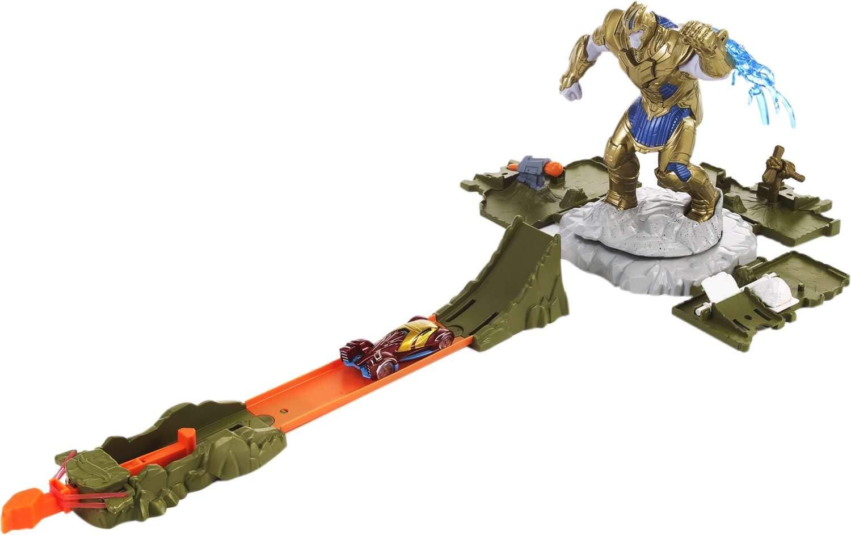 Hot Wheels Marvel Showdown Playset Mattel FLM81