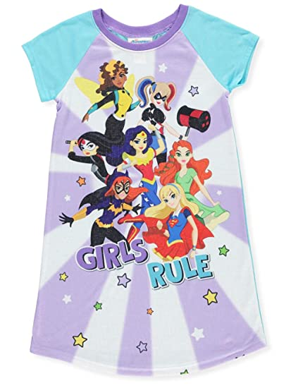 DC Superhero Girls Girls DC Comics Superhero Heroes and Villains Nightgown