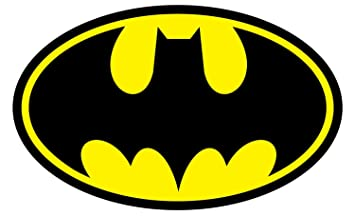 Pt Indopema Aufkleberautoaufkleber Stickerdecal Batman Logo Sticker 127mmx88mm