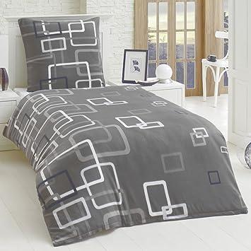 Dreamhome 2 Teilige Microfaser Bettwäsche Bettbezug 135x200 155x220