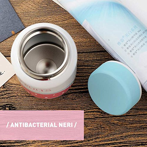 Labu Store Cartoon Thermo Cup Adult Baby Bottle for Water Stainless Steel Baby Cup Thermos Bottle for Newborn Adult Children Insulation Cup 350ml
