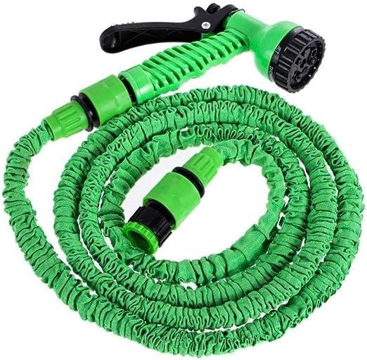 PENVEAT - Pistola de riego Flexible y expandible para Manguera de jardín para Limpieza de Coche, Sistema de riego, Manguera de Agua: Amazon.es: Jardín