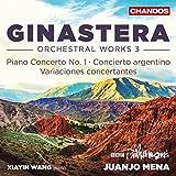 Ginastera: Orchestra Works, Vol. 3