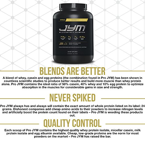 JYM Supplement Science Pro JYM, Banana Cream Pie