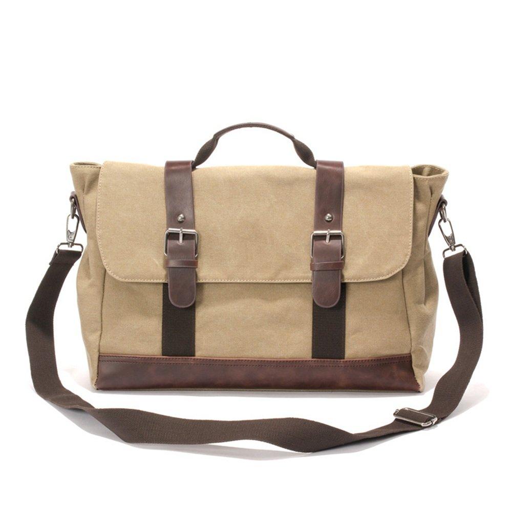 Travel Duffel Canvas Travel Bag with Leather Laptop Bag Crazy Business Travel Luggage Bag Fashion Satchel Gym Sports Luggage Bag