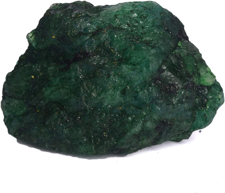 Rough Green Emerald Gemstone 131.00 Ct Natural Raw Rough Certified Green Emerald