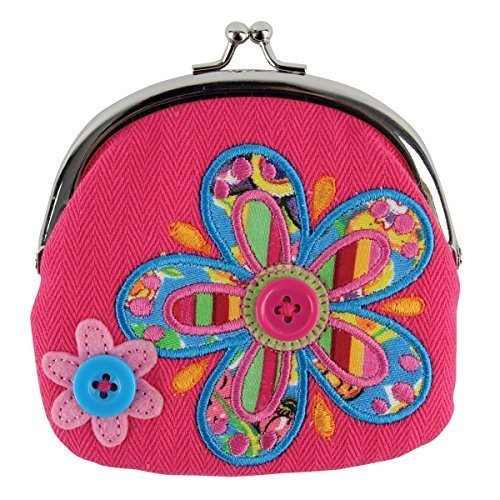 Signature Coin Set (Stephen Joseph Flower Signature Coin Plush Purse, Model: SJ105445A, Toys & Play)