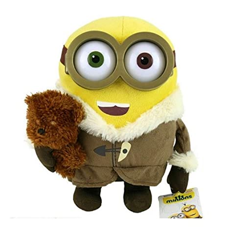 26cm Ice Village Peluche Bob Minion con el oso - Despreciable Me