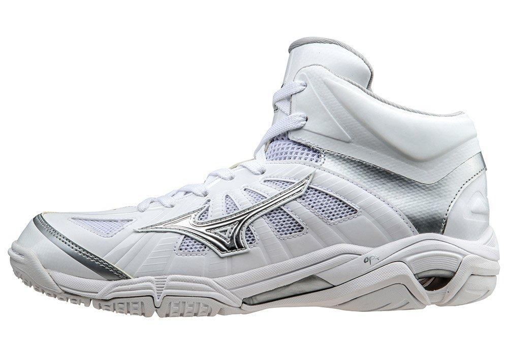 MIZUNO(ミズノ)ウェーブリアル BB7 メンズ バスケットシューズ 03ホワイト×シルバー W1GA160003 03ホワイト×シルバー B01CSLUAR6