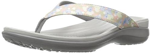 crocs Damen Caprivflip Pantoffeln