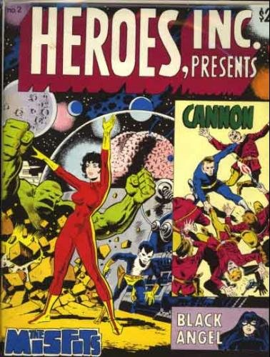 Heroes, Inc. Presents: The Misfits, Cannon and Black Angel (No. 2)