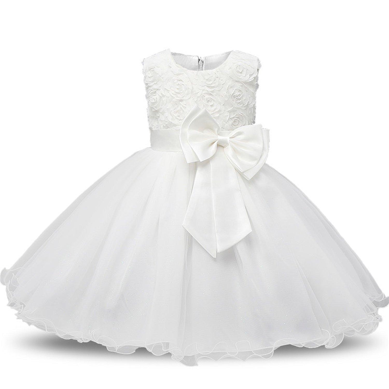 93cdd04e908f Amazon.com  Frozac Princess Flower Girl Dress Summer Wedding Birthday Party  Dresses for Girls Children s Costume Teenager Prom Designs  Clothing