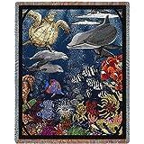 "Pure Country Weavers ""Underwater Blanket"" Tapestry Throw"