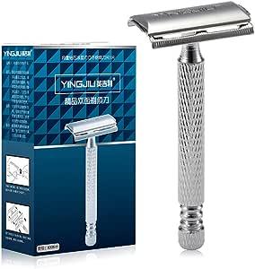 Maquinilla de afeitar de doble lado Ajustable de doble filo Razor ...