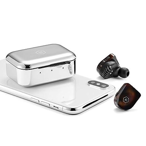 Master & Dynamic MW07 True Wireless - Auricular inalámbrico, Color marrón