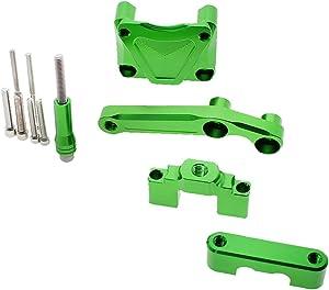 FXCNC Racing Motorcycle CNC Steering Damper Stabilizer Buffer Mounting Bracket Kit Fit For KAWASAKI EX300 NINJA 250 300R ZX300R ZX250R 2013 2014 2015 2016 2017 2018